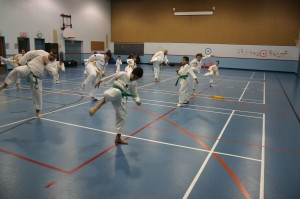 TKD Ste-Catherine-pratique